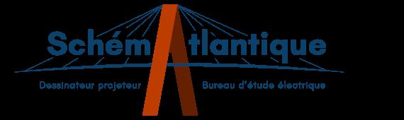 Logo Schematlantique étude et réalisation des schemas électriques - Saint Michel Chef Chef - 44